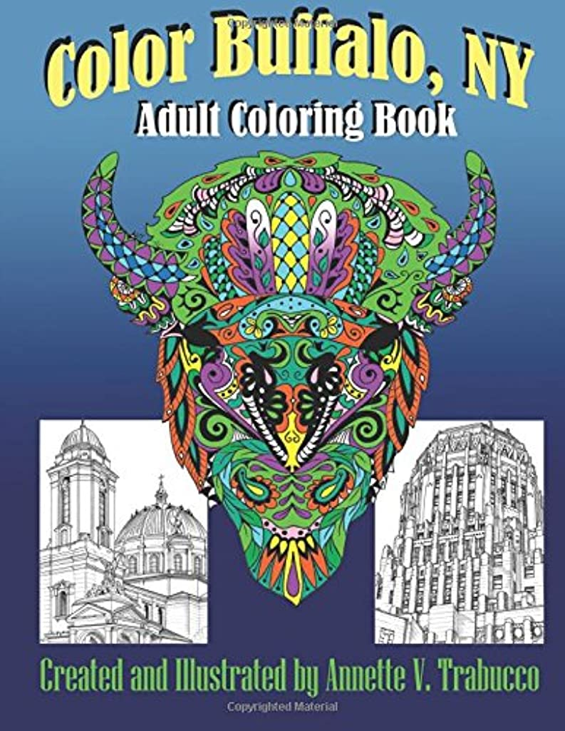 Color Buffalo, NY: Adult Coloring Book