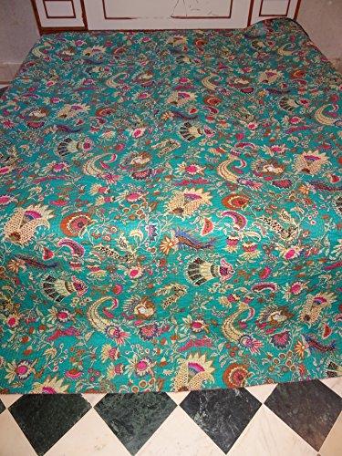 Housse de coussin Motif floral brodé asiatique Ouzbékistan Suzani Couvre-lit Vintage en tissu double couette couverture murale décorative ethnique Moyen-Orient Boho intérieur Broderie mur suspendu