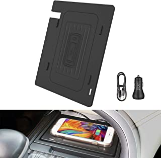 CarQiWireless Wireless Charger for 2018 2019 Camry + Fast Charging Charger, Anti-Slip 3 Coils QI Smartphone Wireless Charging Pad fit for Toyota Camry 2018 2019 - Fast Charging