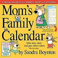 Mom's Family 壁掛けカレンダー 2021 [12インチ x 12インチ]