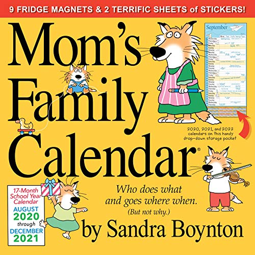 Mom's Family Wall Calendar 2021