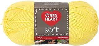 RED HEART Soft Yarn, Lemon