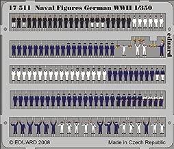 Eduard Photoetch 1:350 - Naval Figures German WWII 1/350 - EDP17511 by Eduard