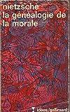 La généalogie de la morale - Gallimard - 12/10/1966