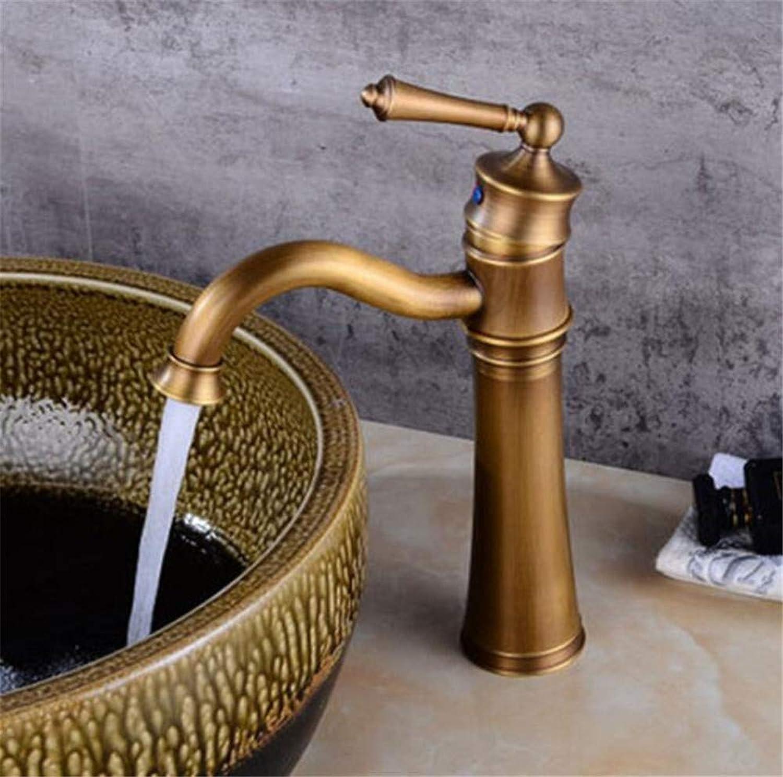Wasserhahn Küche Waschbecken Badezimmer Armaturen Antik Messing Waschbecken Armaturen Einhand Vintage Hot Cold