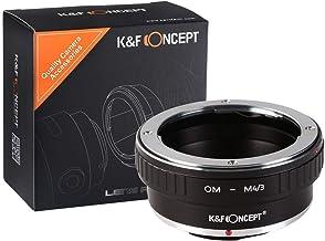 [正規代理店]K&F オリンパス OMマウント-m4/3 マイクロフォーサーズ アダプター レンズクロス付 om-m43 (KFM43)