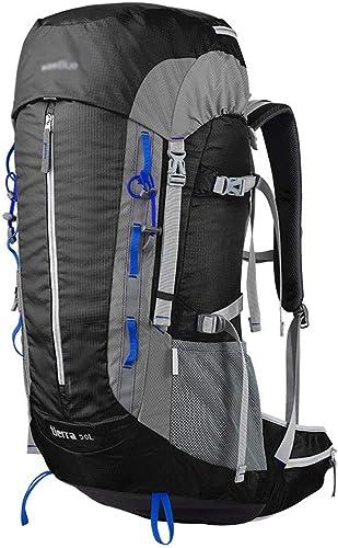 JFFFFWI Alpinisme en Plein Air Sac De Voyage Randonnée en Plein Air Randonnée Camping Sac à Dos 50L Grande Capacité épaule Hommes Et Femmes 50l Sac d'alpinisme Professionnel Facile à Porter Thé Impe