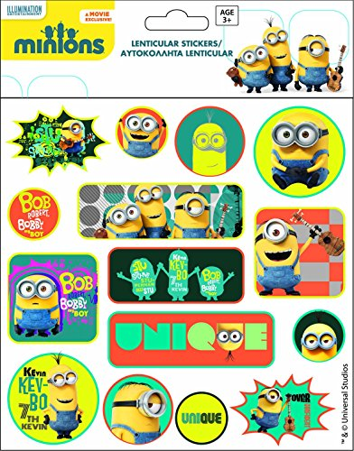 Factory – Minions-Gru, Blister Stickers 3D (77454015)