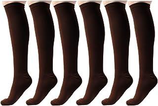 AAATS Graduated Compression Socks (6 Pair) Sports, Athletic, Running, Nurses, Travel & Medical