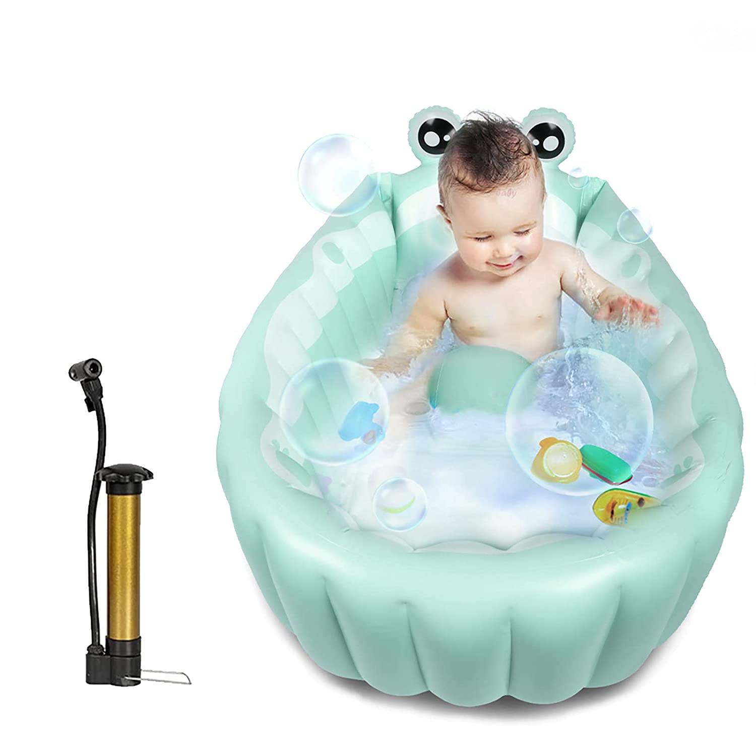 Free shipping on posting reviews Inflatable Baby Bathtub Portable Infant Tub T Toddler Japan Maker New Bath
