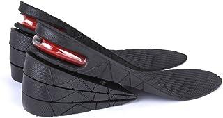 Plantilla Aumentada - SODIAL(R) Unisex Plantillas de Zapato Elevadoras Colchon de Aire 4 Capas elevacion del Talon mas Alto