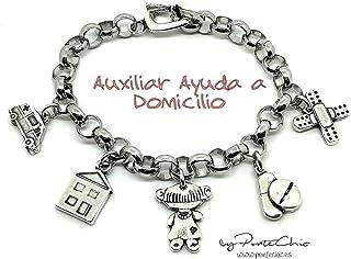 Pulsera AUXILIAR DE AYUDA EN DOMICILIO (Temática Profesiones)