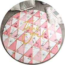 Area Carpet Round Carpet Nursery Rugs Carpets Modern Minimalist Cartoon Style Polyester Material Suitable for The Bedside ...