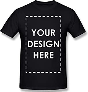 Custom T-Shirts Upload Photos, Type Text, Custom Gifts, Personalized with Your Own Design Custom Made Men Shirt