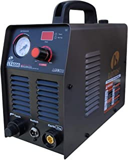 Lotos LT4000 40Amp Air Plasma Cutter, 4/9 Inch Clean Cut, 110V/120V Input with Per Installed NPT Quick Connector, Portable & Easy Quick Setup Metal Cutter.