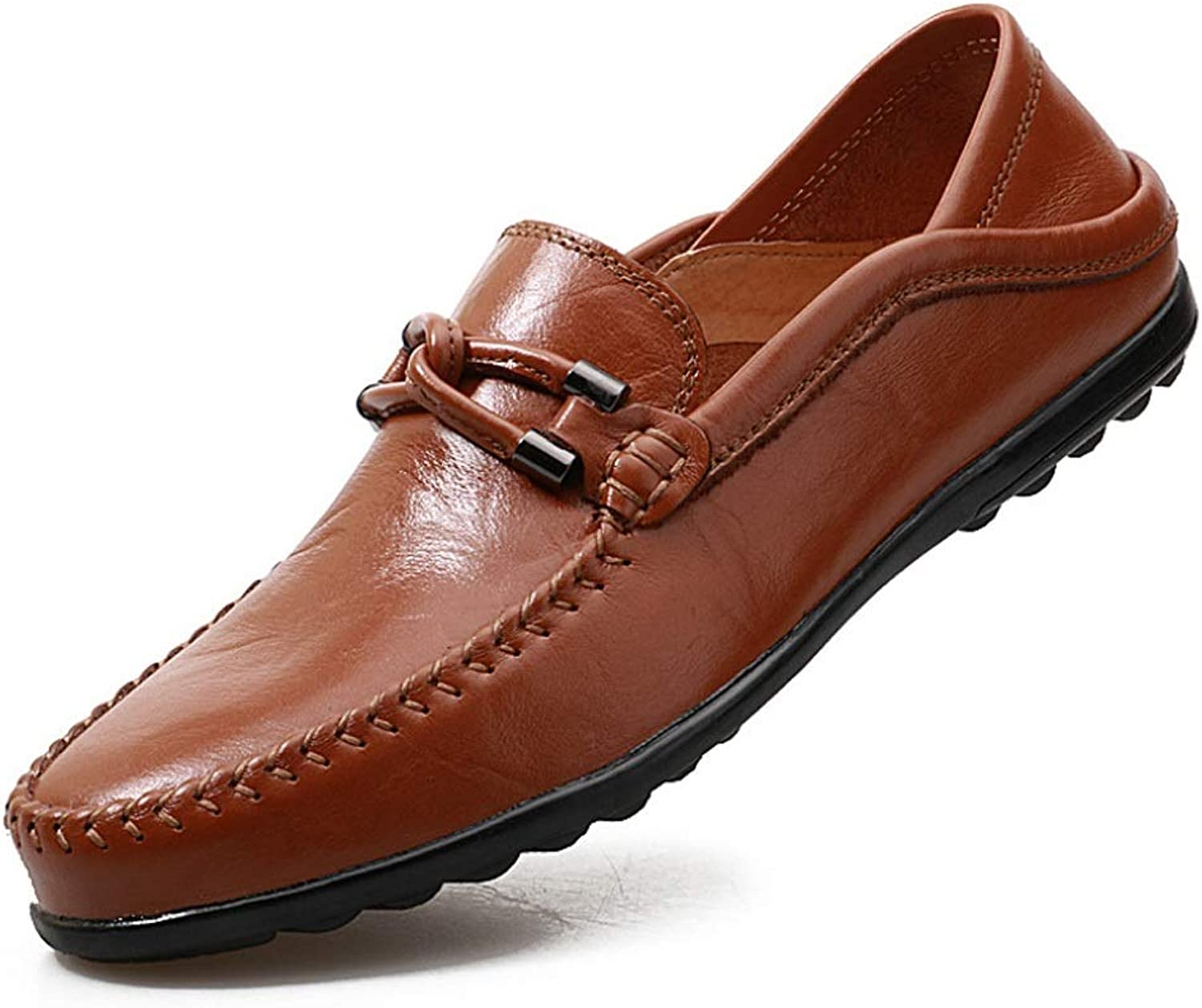 Men's Leather Low Cut shoes Comfort Flats Business shoes Boat shoes Driving shoes Loafer Flats Moccasin-Gommino