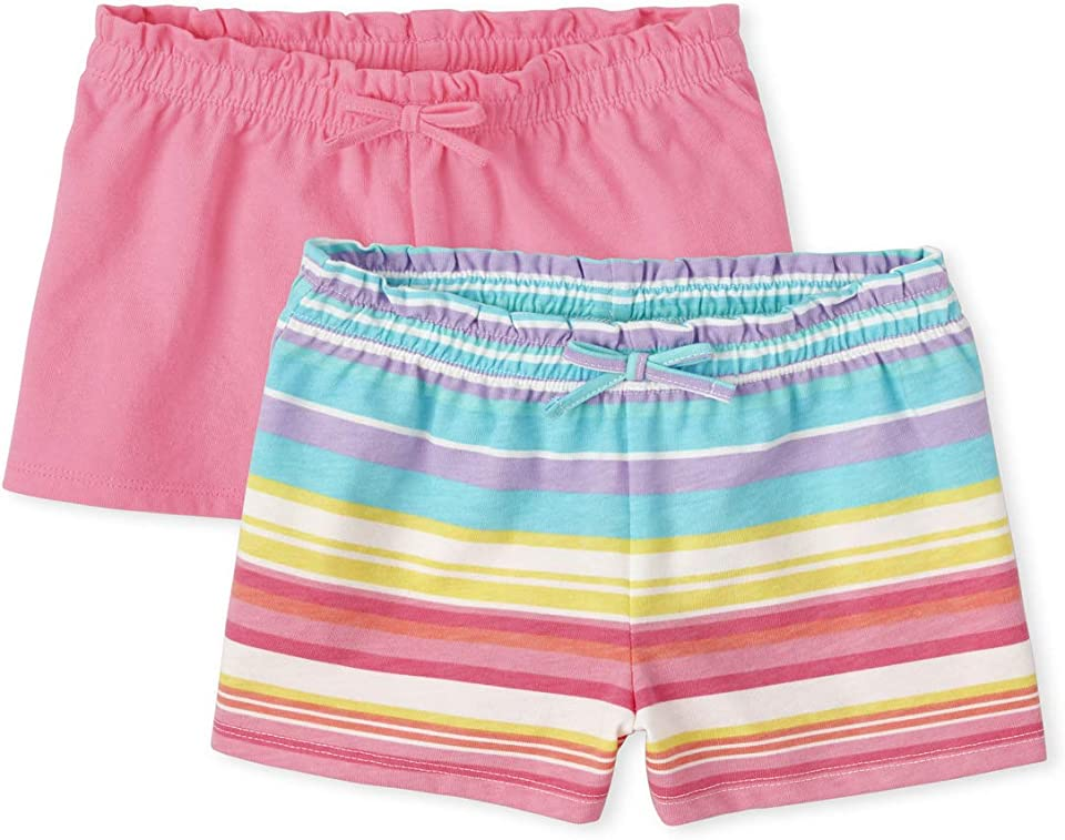 The Children's Place Toddler Girls Swing Shorts 2-Pack