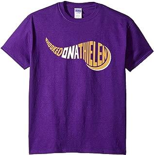 Purple Minnesota Thielen Hooked on T-Shirt