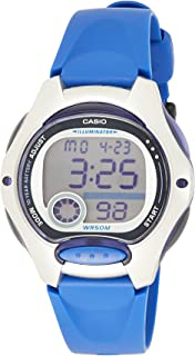 Casio Womens Quartz Watch, Digital Display and Resin Strap
