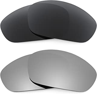 Revant Replacement Lenses for Oakley Straight Jacket (2007) 2 Pair Combo Pack K001