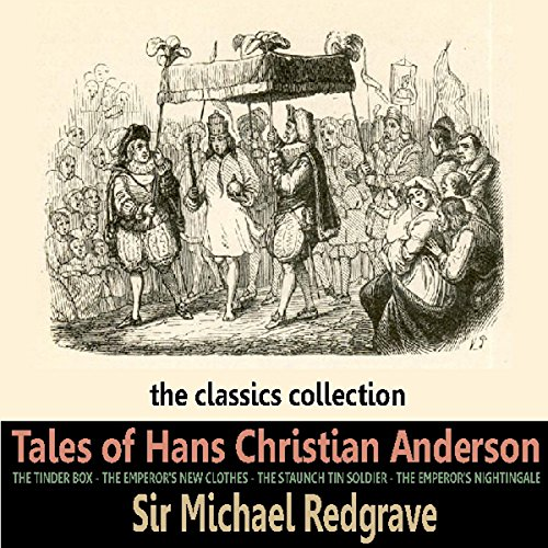 Tales of Hans Christian Andersen audiobook cover art
