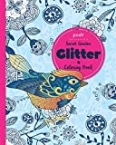 Posh Glitter Coloring Book Secret Garden