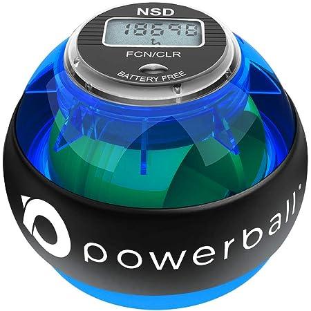 Powerball NSD 280Hz Palla per Esercizi di Riabilitazione e Potenziamento della Avambraccio | Allenatore per la Forza di Presa | Esercizi Isometrici