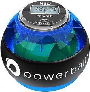 Powerball 280Hz Pro Bola Giroscópica de Ejercicio - Refuerza el Agarre y Alivia el Dolor de Brazos y del Muñecas