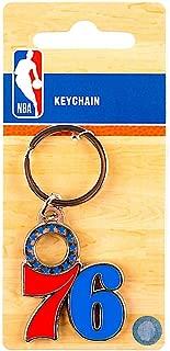 UPI Marketing, Inc. NBA Philadelphia 76Ers KeychainTeam Logo, Team Colors, One Size