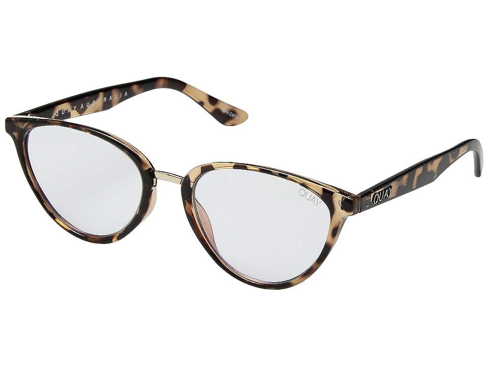 QUAY AUSTRALIA Rumors Blue Light Glasses (Tortoise/Clear Blue Light) Fashion Sunglasses