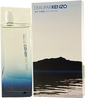Kenzo L'eau Par Kenzo Eau Indigo By Kenzo for Men Concentree Eau De Toilette Spray, 3.4-Ounce / 100 Ml