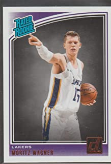 2018-19 Donruss Moritz Wagner Lakers Rated Rookie Basketball Card #197
