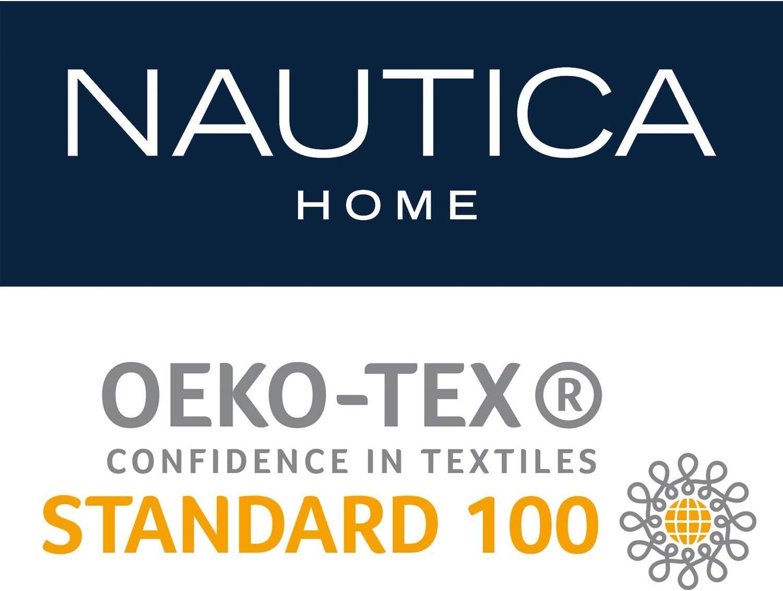 douce et durable Nautica Serviette Zigzag 100 /% coton 550 g//m/² 50 x 100 cm absorbante