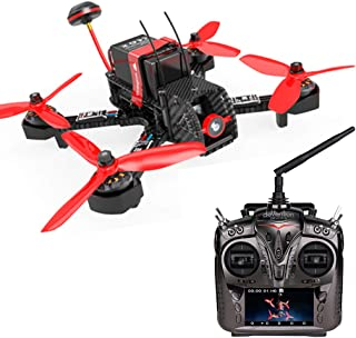Walkera Furious 215 Racing Drone 600TVL Camera F3 Flight Control with Devo F12 Real-time Transmission FPV RTF Quadcopter (FPV Version)