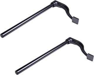 """Bundle 2 Each Pair Workbench Holdfasts Bench Clamps Ductile Cast Iron 8/"""" Tall 4.25/"""" Reach Use in 3//4 Holes WBHFx2"""