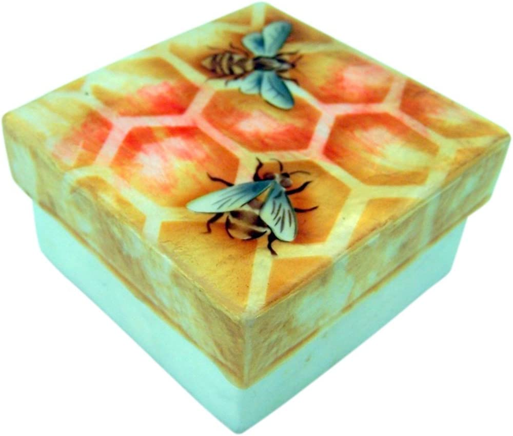 Capiz Shell Jewelry Trinket Max 85% OFF or Keepsake Outlet sale feature Box H Lid - with Inch 3