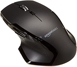 AmazonBasics Full-Size Ergonomic Wireless PC Mouse with Fast Scrolling