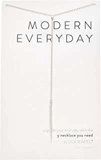"Dogeared Modern Everyday Spear Y 24"" with 2"" Extender Necklace"