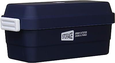 STORAGE ストレージランチ ネイビー 二段式 下段/470,上段/260ml 4677052