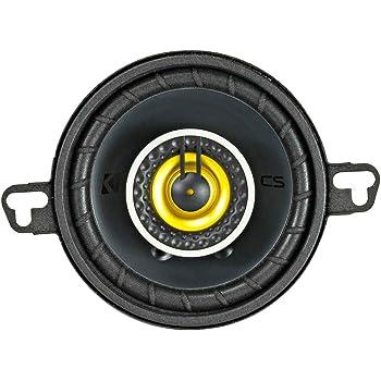 """Kicker CS Series CSC354 3.5"""" 4-Ohm 30 Watt RMS Coaxial Car Speaker Pair"""