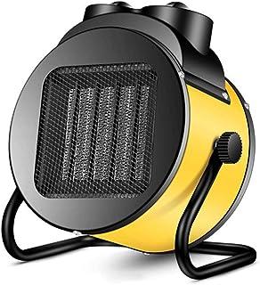 J.SD Calentador 2000W Calefactor Industrial Garage Tilt Ventilador Calentador de Acero Inoxidable protección termostato Control para hogar, Oficina, Escritorio,2