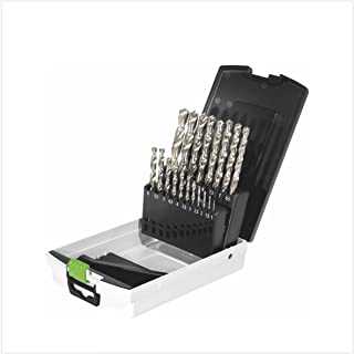 Festool 498981 Drill Box HSS D 1-10 Sort/19x, Multicolour