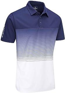 Stuburt Golf SBTS1085 Mens Evolve Dalton Breathable Wicking Stretch Golf Polo Shirt Top