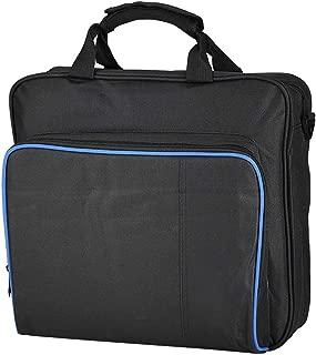 LEKU Portable Carry Bag for Playstation4 Pro Game System Shoulder Bag Travel Carrying Storage Case