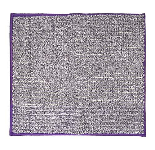 Ridder Fresh badmat, tapijt, mat, polyester, paars, ca. 55 x 50 cm.