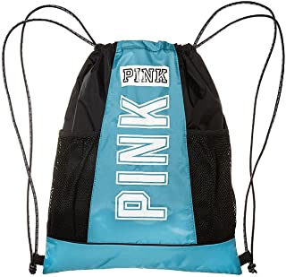 Victoria's Secret PINK Drawstring Backpack Bluebird