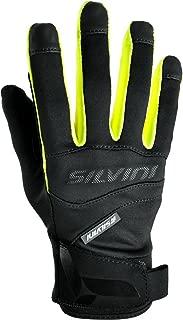 SILVINI Unisex Fusaro Softshell Gloves with Elastic Hem & Hook and Loop Strap Closure