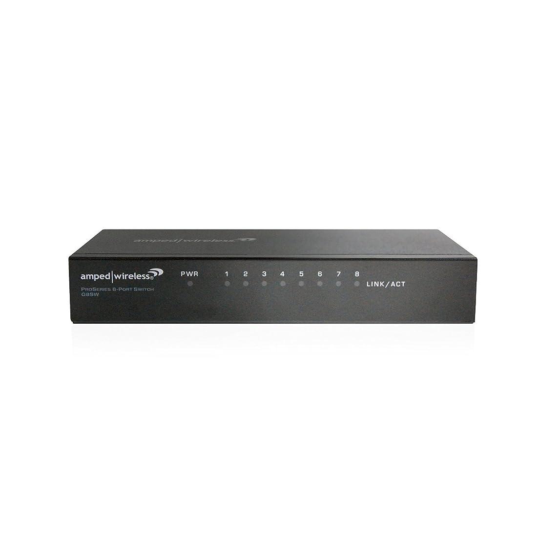 尊敬する咳ライムAmped Wireless ProSeries 8-Port Gigabit Network Switch (G8SW) [並行輸入品]
