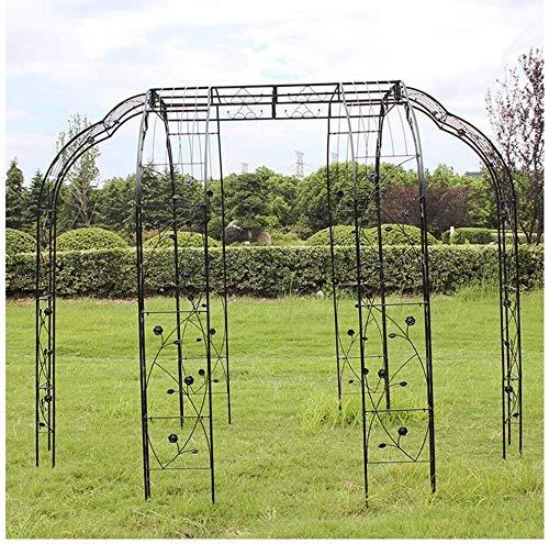 HLZY Garden Furniture Garden Arch Decoration Garden Arch, Decorative Metal Garden Arbor, Ideal for Climbing Vines and Plants