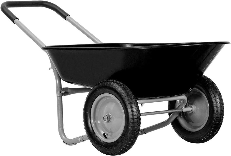 low-pricing Arnot Enhanced 2-Wheeled Garden C Wheelbarrow Award Duty Heavy